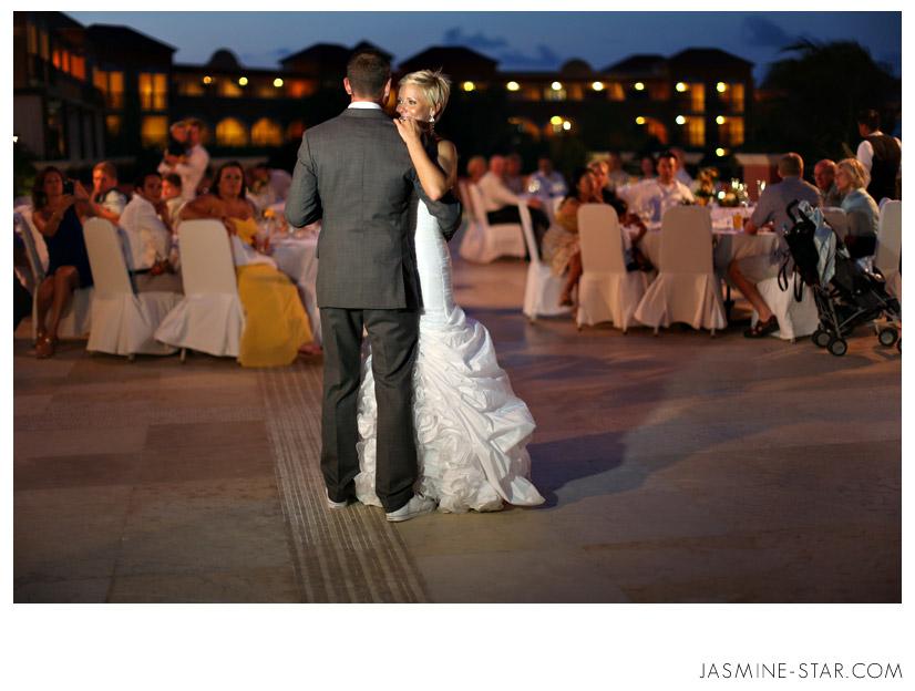 Jasmine saadat wedding