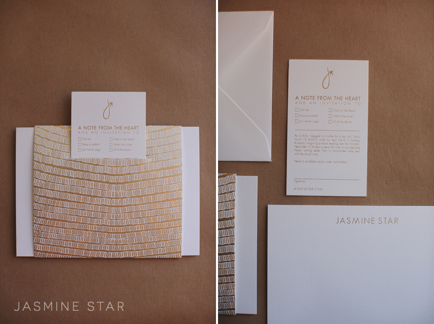 My New Stationary | Jasmine Star