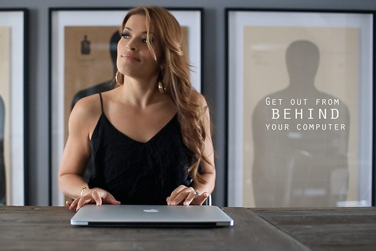 Get Out from Behind the Computer | Jasmine Star