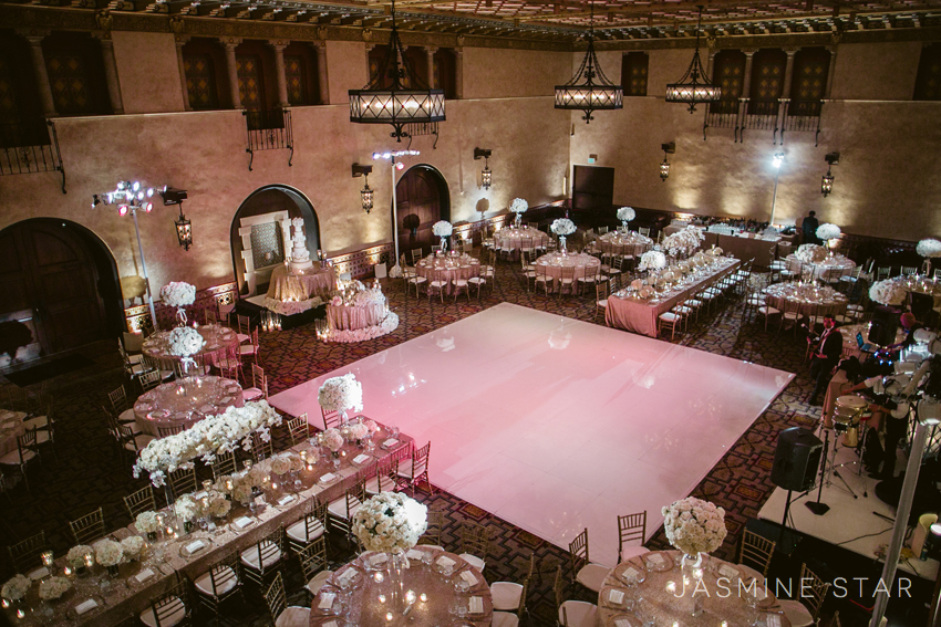 Hollywood Roosevelt Hotel Wedding Ferrahali Jasmine Star