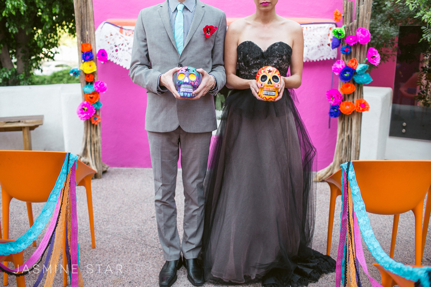 Dia De Los Muertos Wedding Inspiration | Jasmine Star