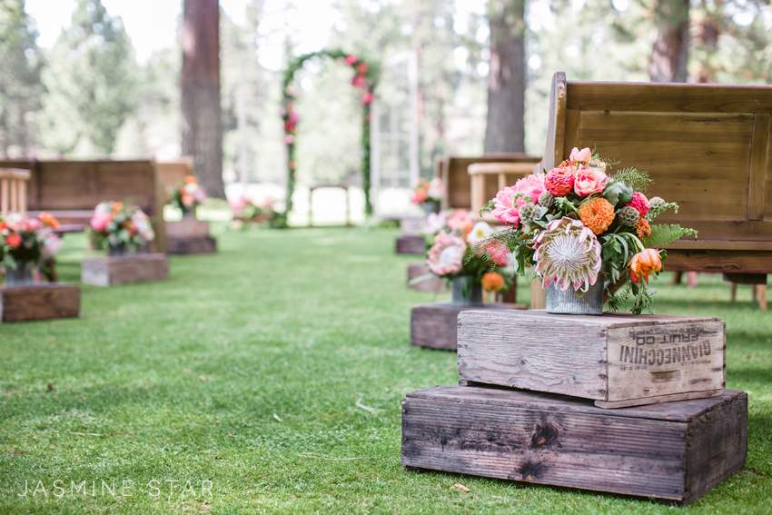 It Was So Nice To See Bright Colors Used As Part Of The Weddingu2026I Mean,  Pink, Orange, And Fuchsia Can Brighten Any Day!