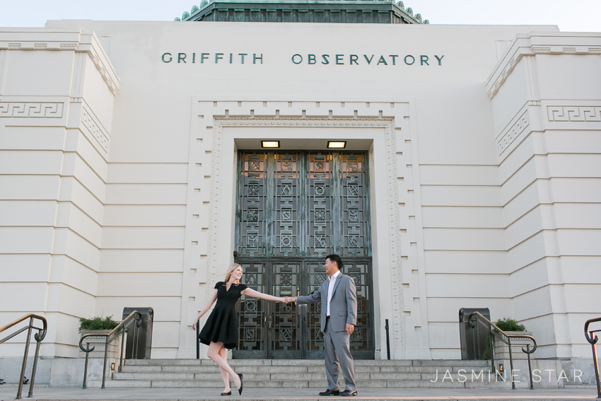Griffith-Observatory-Engagement-Photo1