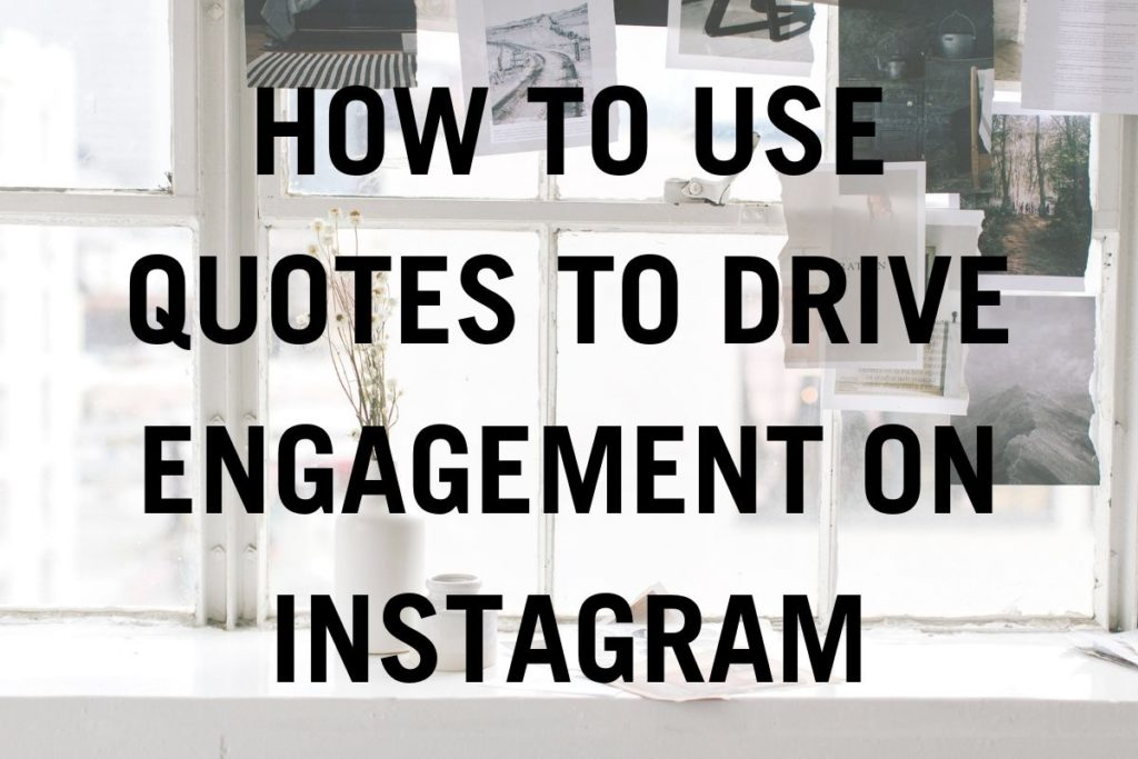 how to use quotes to drive engagement on instagram jasmine star