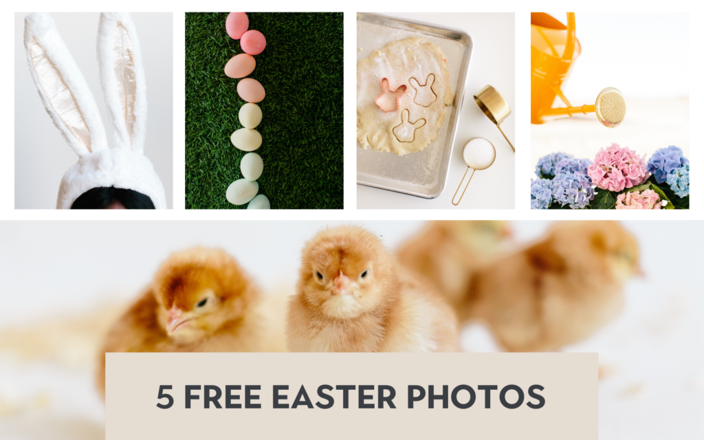 5 Different Easter Photos for Your Business